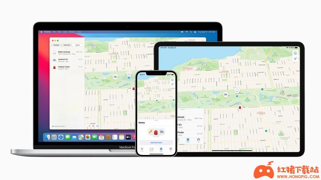苹果的 Find My 网络正式向第三方设备开放