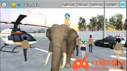 樱花动物校园模拟器免费版