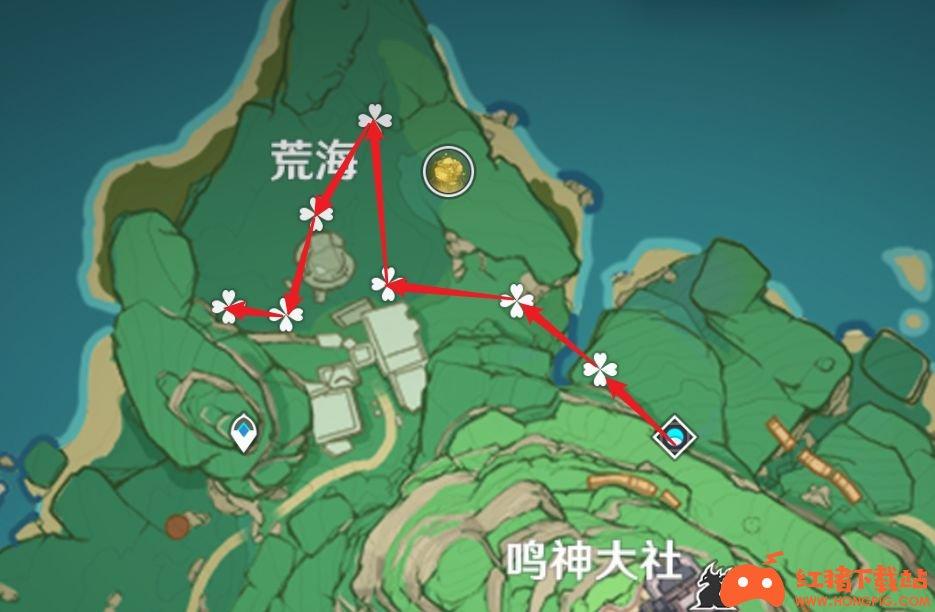 原神2.0版本神里绫华全材料获取线路攻略